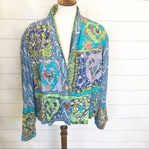 Sandy Starkman HEARTS 💕 Tapestry Jacket